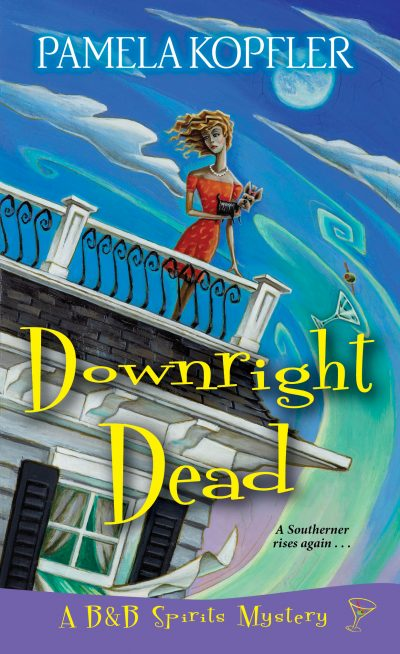 Downright Dead Holly Davis never imagined having a haunted bed and breakfast would be the secret to her success—or that a secret might leave her B&B DOA . . . After the syndicated TV show, Inquiring Minds, airs footage of their resident ghost at Holly Grove, a converted antebellum plantation house, it seems like half the state of Louisiana wants to book a room. There's only one small problem: the ghost of her not-so-dearly-departed ex Burl has . . . departed. For the sake of business, Holly's willing to keep up the pretense of still being haunted. But after an outspoken debunker challenges the show's credibility, the TV crew returns to Holly Grove to prove the ghost is real. Following a disastrous séance, Holly is sure she'll be exposed as a charlatan. Surprisingly, the debunker suddenly becomes a believer—after he's pushed off the Widow's Walk to his death and rises as a ghost. Now his inquiring mind wants to know—who murdered him? When he asks for Holly's help, she can't say no. But this time it's her turn to watch her step, because if the killer gets spooked, the next ghost haunting the B&B may well be its owner . . .